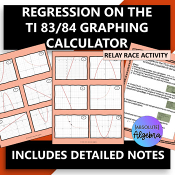 Linear Quadratic Exponential Regression On The Calculator By