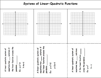 Linear-Quadratic Systems Foldable