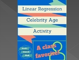 Linear Regression Celebrity Age Activity