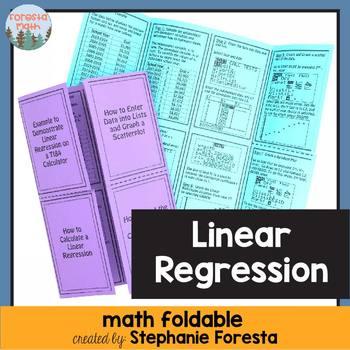 Linear Regression Foldable