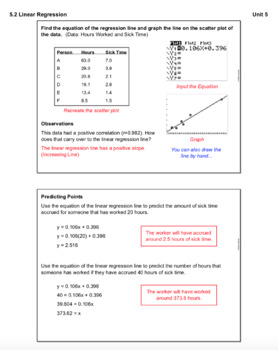 Linear Regression (Lesson with Homework)