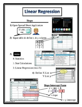 Linear Regression Poster/Interactive