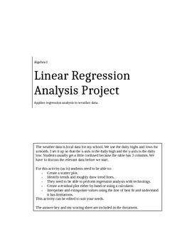 Linear Regression Project