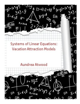 Linear Regression: Vacation Attractions Model