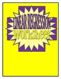 Linear Regression Worksheet
