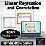 Linear Regression and Correlation Digital Activity Distanc