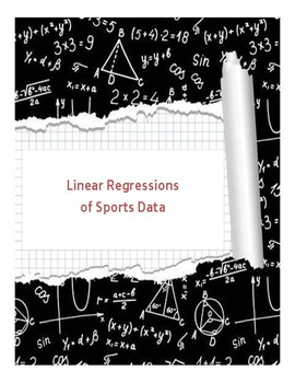 Linear Regression of Sports Data