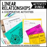 Linear Relationships Activity Bundle