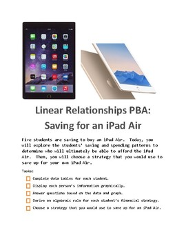 Linear Relationships PBA