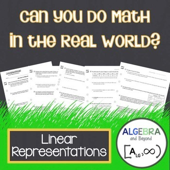 Linear Representations - Real World Applications