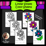 Linear Slopes Color Sheets