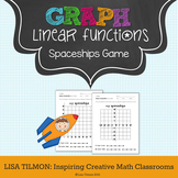 Graphing Linear Equations Spaceships Game