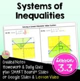 Systems of Inequalities (Algebra 2 - Unit 3)