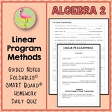 Linear Programming (Algebra 2 - Unit 3)