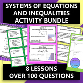Linear Systems Activity Bundle