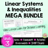 Linear Systems MEGA Bundle (Algebra 2 - Unit 3)