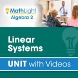 Linear Systems   Algebra 2 Unit with Videos