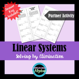 Linear Systems - Elimination Partner Activity