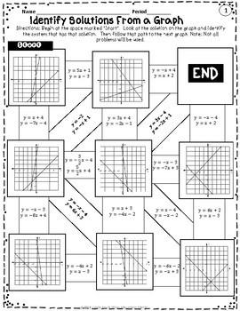 Linear Systems Maze Set