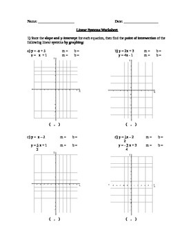 Linear Systems Quiz with Answers