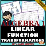 Linear Transformations Cut & Paste Activity