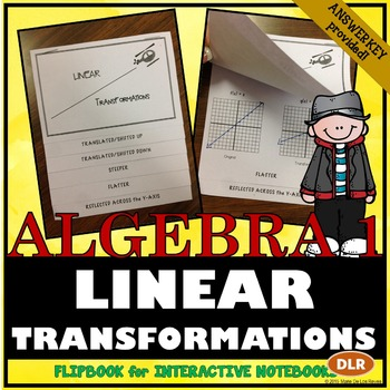 Linear Transformations Notes for Interactive Notebooks