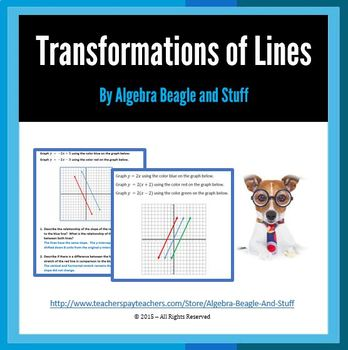 Linear Transformations Scaffold Notes