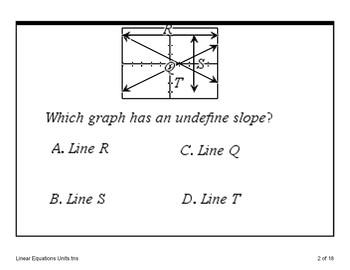 Algebra - Linear Workstations Bingo