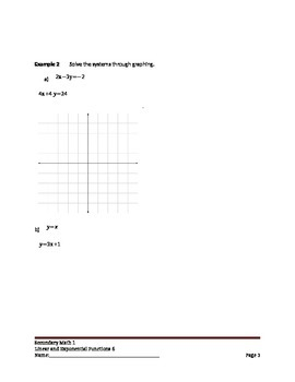 Linear and Exponential Functions Lesson 6 of 9