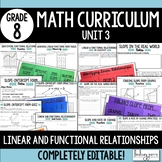 Linear and Functional Relationships Unit