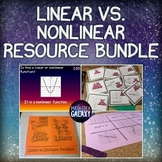 Linear and Nonlinear Functions Activities Bundle