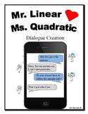 Linear and Quadratic Parent Functions Dialogue Activity Lesson