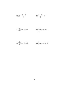 Linear equations 3