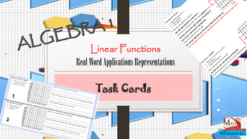 Linear functions - Sketching graphs from real world applications