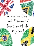 Linear vs Exponential Functions Murder Mystery