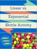 Linear vs. Exponential Skittle Activity