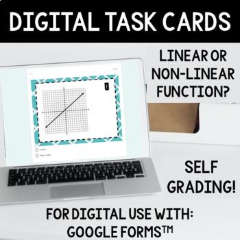 Linear vs Non-Linear Function Task Card Sort