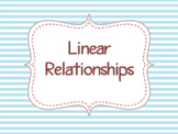 Linear vs. Nonlinear Relationships from Graphs