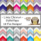 Digital Papers: Lined Chevron