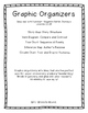 Lined Graphic Organizer Set for Journeys Lessons 21-25 Third Grade