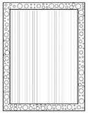 Lined Handwriting Paper with Borders- 95 DIFFERENT borders