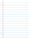 Lined Paper #3