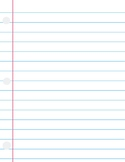 Lined Paper #4