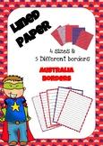 Lined Paper - Australia
