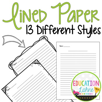Lined Paper