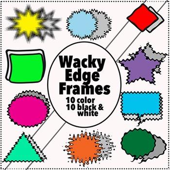 Frames Clip Art:  Graphics for Teachers