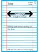 Lined Paper Guide and Model