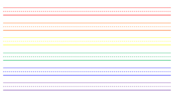 Lined Paper- Lite