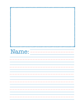 Lined Paper Pack (Intermediate Grades)