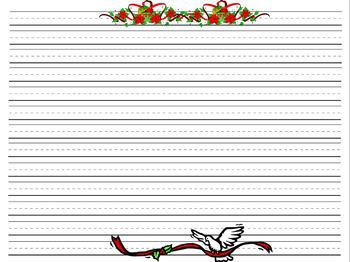 Writing Paper - Seasonal Packet